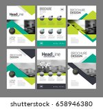 six front page and back page... | Shutterstock .eps vector #658946380