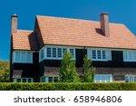 beautiful house exterior | Shutterstock . vector #658946806