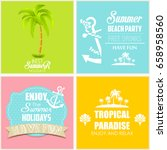 travel banners  | Shutterstock . vector #658958560