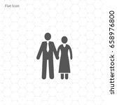 people vector icon | Shutterstock .eps vector #658976800