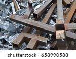 scrap metal | Shutterstock . vector #658990588