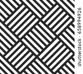 geometric seamless vector... | Shutterstock .eps vector #658994926