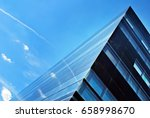 modern building. modern office... | Shutterstock . vector #658998670