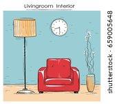 sketchy illustration of... | Shutterstock . vector #659005648