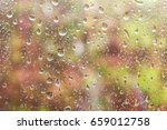 abstract blurry garden picture... | Shutterstock . vector #659012758