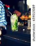 mojito on the bar | Shutterstock . vector #659015089
