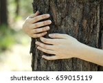 close up of a woman's hands... | Shutterstock . vector #659015119