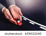 professional car insurance... | Shutterstock . vector #659023240