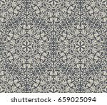 dark grey and white vintage... | Shutterstock .eps vector #659025094