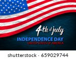 fourth of july usa independence ... | Shutterstock .eps vector #659029744