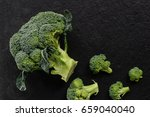 broccoli | Shutterstock . vector #659040040
