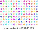 abstract colored triangle shape ...   Shutterstock .eps vector #659041729