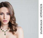 beauty. beautiful bride.... | Shutterstock . vector #659042626