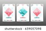 poster design template  ... | Shutterstock .eps vector #659057098