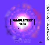 vector motion explode banner.... | Shutterstock .eps vector #659061268