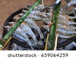 grilled fish thail local style | Shutterstock . vector #659064259