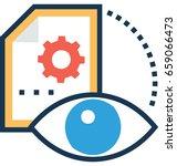 preview vector icon | Shutterstock .eps vector #659066473