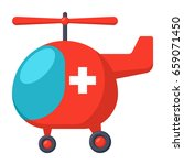air ambulance concept with... | Shutterstock .eps vector #659071450