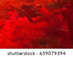 abstract oil paint texture on... | Shutterstock . vector #659079394