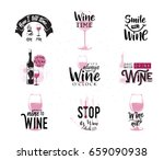vector illustration of drink... | Shutterstock .eps vector #659090938