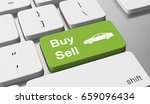 buy or sell a car. 3d... | Shutterstock . vector #659096434