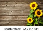 autumn background with... | Shutterstock . vector #659114734