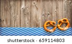 rustic background for... | Shutterstock . vector #659114803