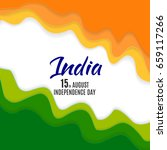 indian independence day... | Shutterstock .eps vector #659117266