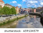 old town of bilbao  basque... | Shutterstock . vector #659134579