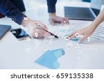 business and technology concept.... | Shutterstock . vector #659135338