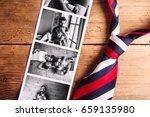 pictures of father and daughter ... | Shutterstock . vector #659135980