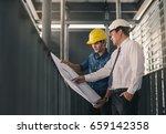 engineers in mechanical factory ...