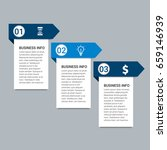 modern infographic target... | Shutterstock .eps vector #659146939