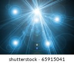 abstract blue color background | Shutterstock . vector #65915041