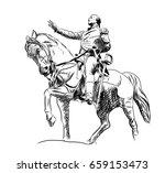 Hand Drawn Sketch Of General...