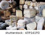 Various Cheeses At Country...