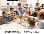 education  children  technology ... | Shutterstock . vector #659176168