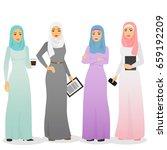 vector illustration set of...   Shutterstock .eps vector #659192209