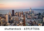 view from above of market... | Shutterstock . vector #659197006