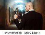contract killer wallpaper... | Shutterstock . vector #659213044
