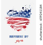 usa independence day background.... | Shutterstock .eps vector #659241184