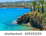 the beautiful coast and the bay ... | Shutterstock . vector #659252254