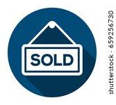 icon status information label... | Shutterstock .eps vector #659256730