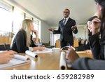 friendly charming warm sales... | Shutterstock . vector #659282989