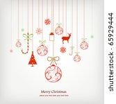 christmas background   Shutterstock .eps vector #65929444