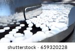 process of production of pills  ... | Shutterstock . vector #659320228
