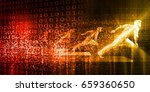 disruptive technologies and...   Shutterstock . vector #659360650