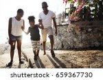black family enjoying summer...   Shutterstock . vector #659367730