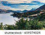 new zealand queenstown lake   Shutterstock . vector #659374024