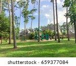 children playground activities... | Shutterstock . vector #659377084